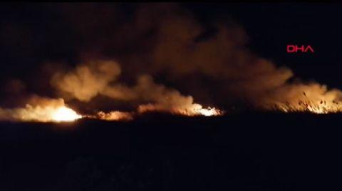 Ramsar Sözleşmesi'yle Korunan Deltada Yangın