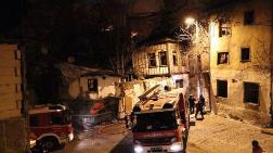 Ankara'da, 2 Terk Edilmiş Konak Yandı