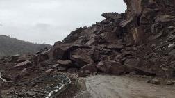 Sason'da Heyelan, 25 Köy Yolu Ulaşıma Kapandı
