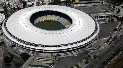 Maracana Stadyumu Kovid-19 Hastanesine Dönüştürülüyor