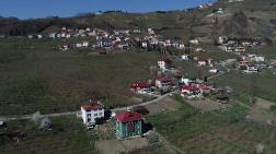 Trabzon'da, Heyelanlı Mahallenin Halkı Tedirgin