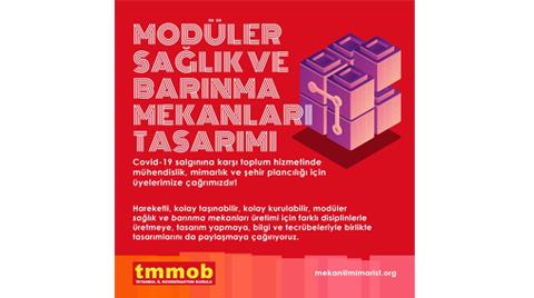 TMMOB İstanbul İl Koordinasyon Kurulu'ndan Çağrı