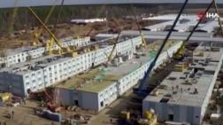 Rusya'da 500 Kişilik Sahra Hastanesi Yapıldı