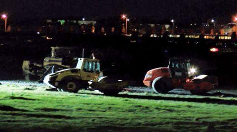 İstanbul'daki Hastane Çalışmaları Gece de Devam Etti