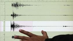 Ordu'da 4 Büyüklüğünde Deprem