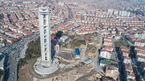 Keçiören'deki Cumhuriyet Kulesi'nin İhalesi Yapıldı