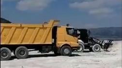 Salda Gölü'ne Makineli Araç Sokan Yükleniciye Ceza