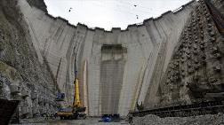 Yusufeli Barajı'nda Yükseklik 200 Metreye Ulaştı