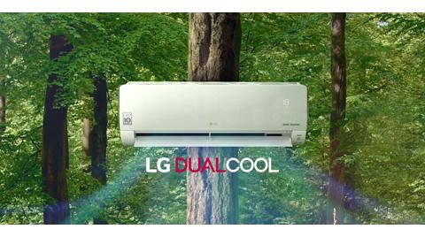 LG'den DUALCOOL Klimalar