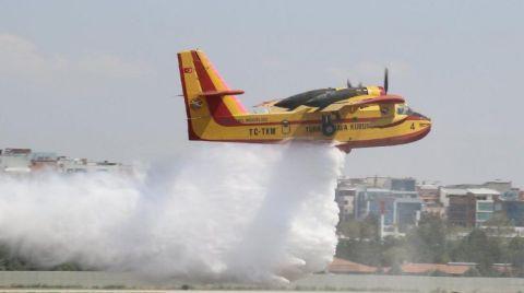 Yangın Söndürme Uçağı İhalesi Yenilenmedi
