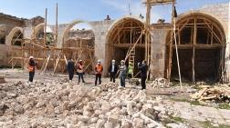 Obruk Hanı'nda Restorasyon Çalışmaları Devam Ediyor