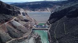 Silvan Barajı'nda Dolgu Çalışmasının Yüzde 97'si Tamamlandı
