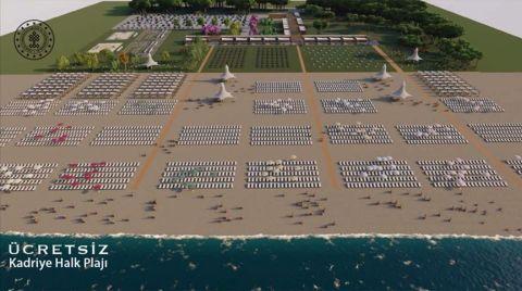 Ücretsiz Halk Plajlarının Yapımı Hızlanıyor