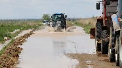 Aksaray'da Sulama Kanalı Patladı