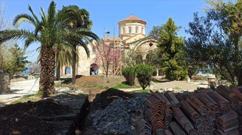 Ayasofya Camisi'nin Restorasyonu Haziran Sonunda Tamamlanacak