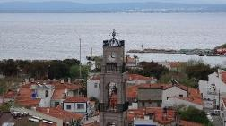 Bozcaada'da Kilisenin Çan Kulesi Restore Edildi