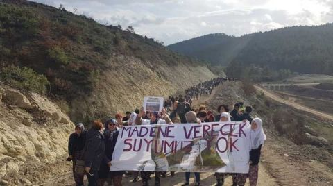 Çevre Örgütlerinden Kazdağları'ndaki Madencilere Tepki