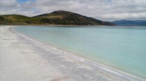 Usulsüz Kum Alınan Salda, Eski Görüntüsüne Kavuşturuldu