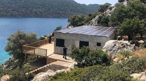 Birinci Derece Doğal Sit Alanına Kaçak Villa