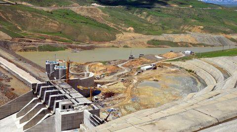 Alparslan 2 Barajı Enerji Üretimine Hazırlanıyor
