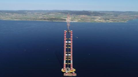 Çanakkale Köprüsü'nün Ayakları Tamamlandı