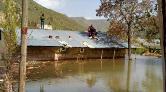Karakurt Köyü Sular Altında Kaldı