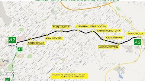 Ankara'ya Yeni Metro