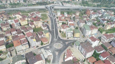 İstanbul ve Kocaeli'yi Birleştiren Caddede Sona Yaklaşıldı