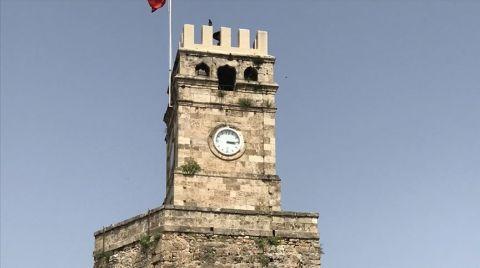 Tarihi Saat Kulesi Özgün Kubbesine Kavuşacak