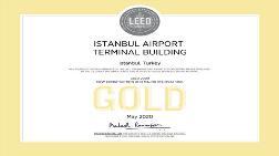 """Kentsel Dönüşüm - İstanbul Havalimanı Terminali'ne """"LEED Altın"""" Sertifikası"""