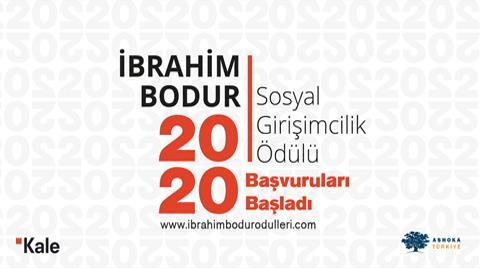 İbrahim Bodur Sosyal Girişimcilik Ödülü 2020