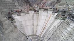 En Yüksek Baraj İnşaatında Bitime 70 Metre Kaldı