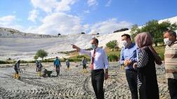 Pamukkale'den 400 Kamyon Çamur Çıkarılacak