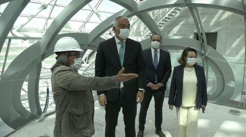 Bakan Ersoy CSO Binasını İnceledi