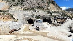 Kop Tüneli'ndeki Kazıların Yüzde 58'i Tamamlandı