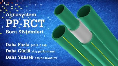 GF Aquasystem PP-RCT Boru Sistemi