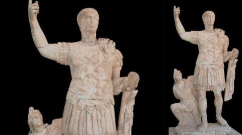Traian Heykelinin Restorasyonu Tamamlandı