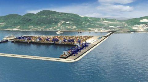 Ünye Port'un Proje İhalesi Yapıldı