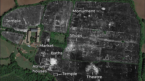 Antik Kent, Radar Tarama Yöntemiyle Ortaya Çıkarıldı