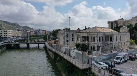 Hatay Tarihi Meclis Binasında Restorasyon Başladı
