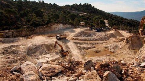 Söke'de Maden Ocağının ÇED Olumlu Kararı İptal Edildi