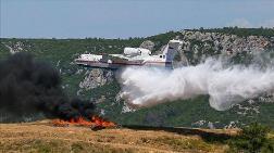 Bakan Pakdemirli Yangın Uçağını Test Etti