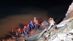 Bursa'da İstinat Duvarı Çöktü