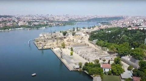 Haliç'teki Tarihi Tersaneler Tahrip Ediliyor