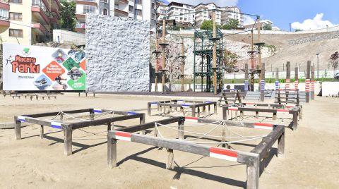 Mamak'ta Macera Parkı Açılıyor