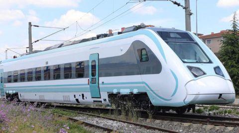 Milli Elektrikli Tren Raylara İniyor