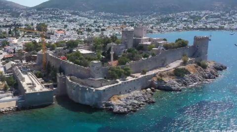 Restorasyonu Tamamlanan Bodrum Kalesi Ziyarete Açıldı