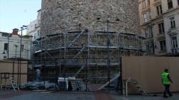 Galata Kulesi'nde Restorasyon Çalışmaları Başladı
