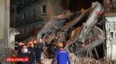 Erzurum'da 5 Katlı Bina Çöktü