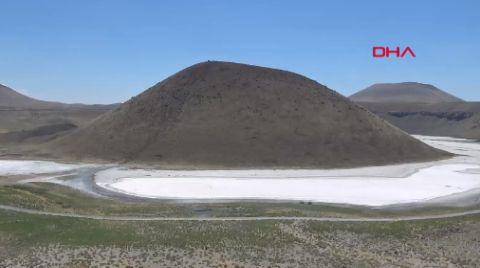 Meke Gölü Tamamen Kurudu